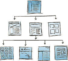 Web Architecture Site Map