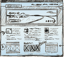 Web Architecture Wireframe